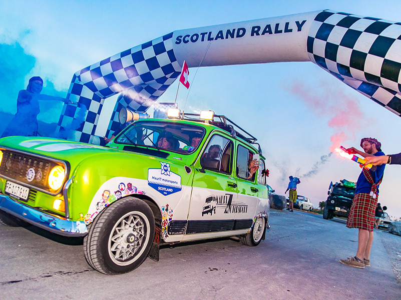 Picture of the Scotland Rally